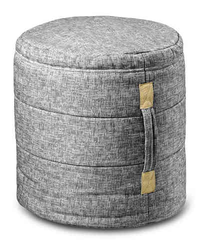 Ikoonz Hocker Tub, Life grey-melange