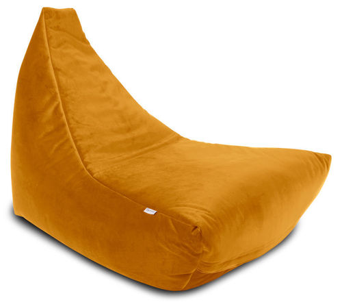 Sitzsack Chiller Royal Velvet, ocre